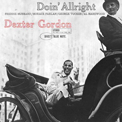 Dexter Gordon - Doin' Alright LP
