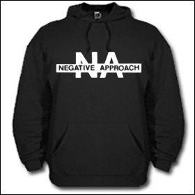 Negative Approach - Logo Hooded Sweater (reduziert)