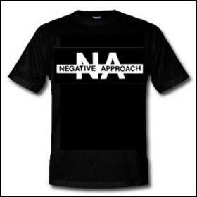 Negative Approach - Logo Shirt (reduziert)