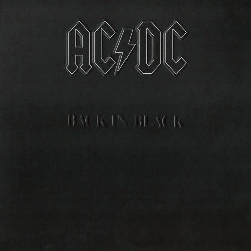 AC/ DC - Back In Black LP