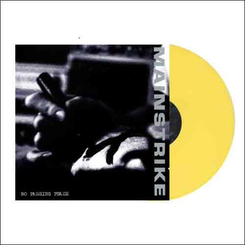 4 LP/ 1 CD Bundle incl. Mainstrike - second LP on yellow