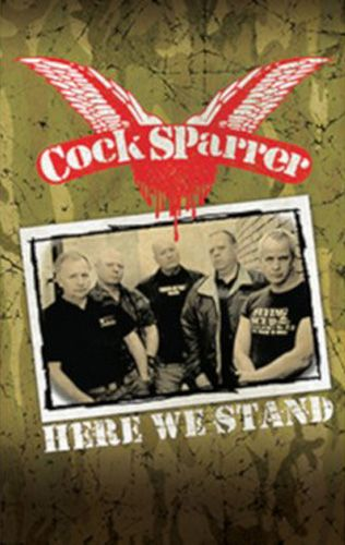 Cock Sparrer - Here We Stand Tape