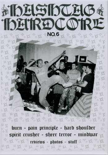 Hashtag Hardcore No. 6 Fanzine