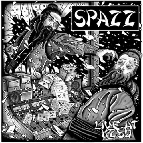 Spazz - Live At KZSU LP