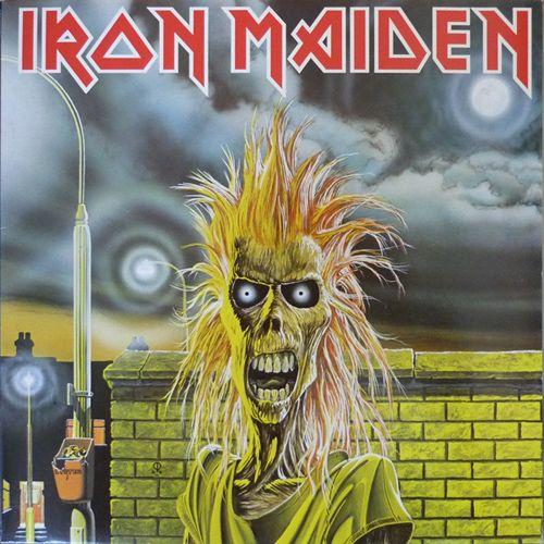 Iron Maiden - s/t LP