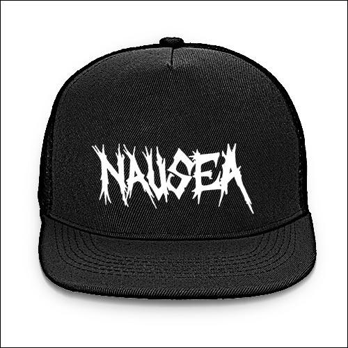 Nausea - Logo Baseball CapNausea Band Logo
