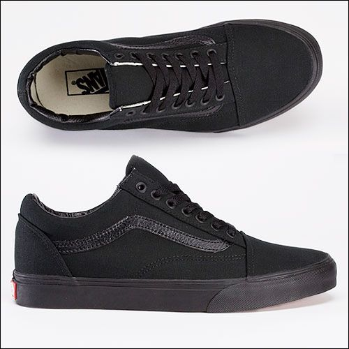 vans vegan old skool black