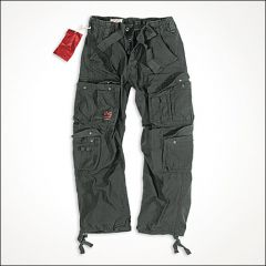 Airborne Vintage Hose schwarz