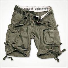 Division Shorts oliv