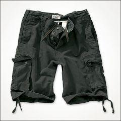 Vintage Shorts schwarz