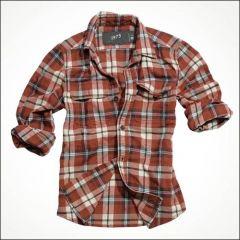 Holzfällerhemd rot karo