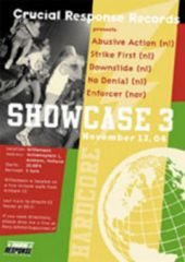 Crucial Response Showcase III Poster