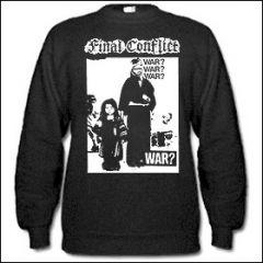Final Conflict - War? Sweater