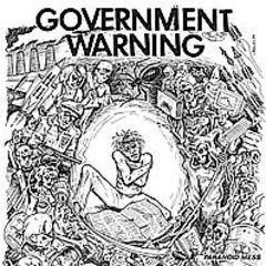 Government Warning - Paranoid Mess LP