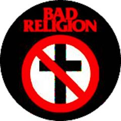 Bad Religion - Logo Button