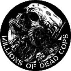 MDC - Millions Of Dead Cops Button