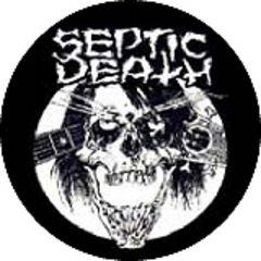 Septic Death - Skull Button