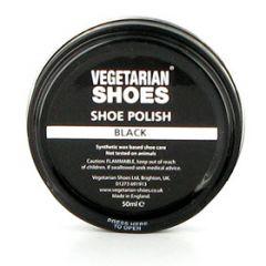 Schwarze Schuhcreme