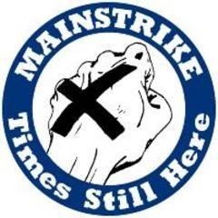 Mainstrike - Times Still Here Button