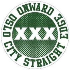 Onward - Oslo City Straight Edge Button
