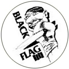 Black Flag - My War Button