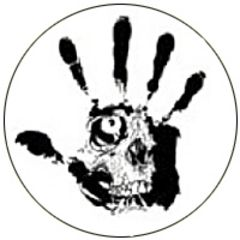 Septic Death - Hand Button