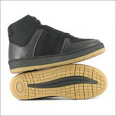 Veg Supreme Hemp Hi Top Sneaker (Schwarz)
