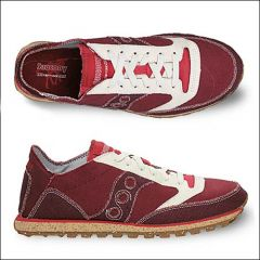 Jazz Low Pro Vegan Sneaker (Burgund)