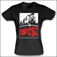 Stalag 13 - Skeleton Skater Girlie Shirt