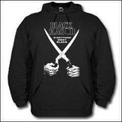 Black Flag - Everything Went Black Hooded Sweater