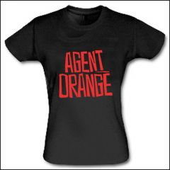 Agent Orange - Logo Girlie Shirt