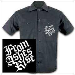 From Ashes Rise - Logo Workershirt