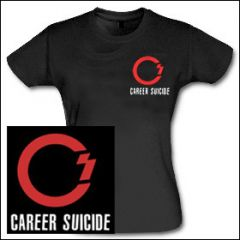 Career Suicide - Logo Girlie Shirt
