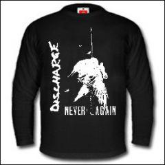 Discharge - Never Again Longsleeve