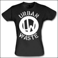 Urban Waste - Logo Girlie Shirt