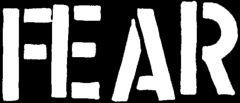 Fear - Logo Aufnäher