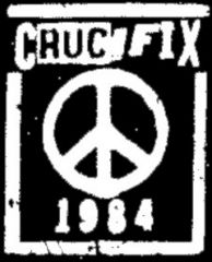 Crucifix - Peace Aufnäher