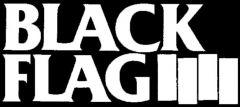 Black Flag - Logo Aufnäher