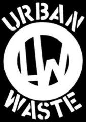 Urban Waste - Logo Aufnäher