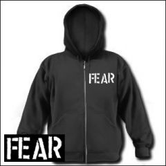 Fear - Logo Zipper