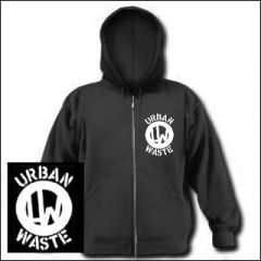 Urban Waste - Logo Zipper