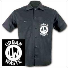 Urban Waste - Logo Workershirt
