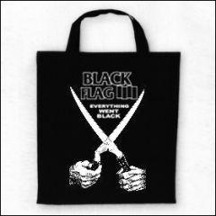 Black Flag - Everything Went Black Tasche (Henkel kurz)