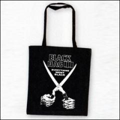 Black Flag - Everything Went Black Tasche (Henkel lang)