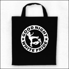 Good Night White Pride - Logo Tasche (Henkel kurz)