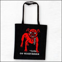 Go Vegetarian - Tasche (Henkel lang)