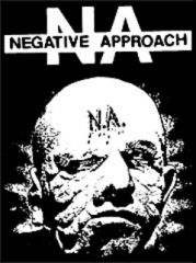 Negative Approach - Face Aufnäher