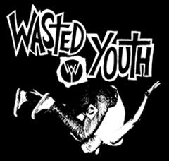 Wasted Youth - Diver Aufnäher