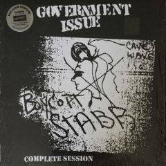 Government Issue - Boycott Stabb Complete Session LP