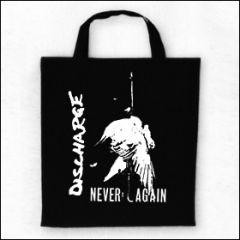 Discharge - Never Again Tasche (Henkel kurz)